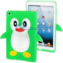 Penguin Shape Minion 3D Silicon Case for iPad mini