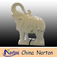 Small stone elephant sculpture NTBM-E023