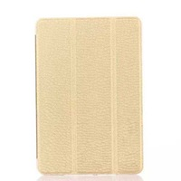 Crystal Clear Back Case For IPAD Mini 3,Stand Flip Case For ipad