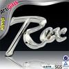 Wholesale cheap metal car logo badge manufacturer in china