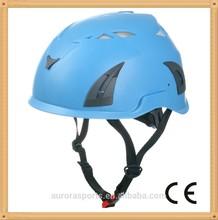 Leggero materiale pc+eps 7 a colori ce en12494 arancione arrampicata su roccia arrampicata sportiva casco