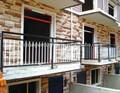 varanda de ferro projetos trilhos de ferro da grade de janela de segurança