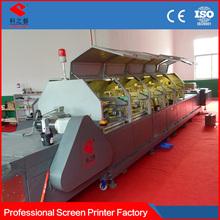 import electric parts Multi-color 3 colors uv screen printer