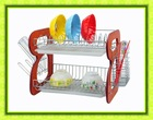 High Quality Wall Mounted Wooden Dish Drainer Rack