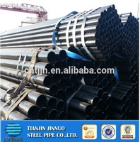 Hot Rolled Welded ERW Black Iron Pipe Dimensions