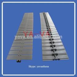 820 Plastic slat top chain/slat conveyor chain/table top chain
