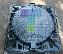 Bituminous paint coating drain grating