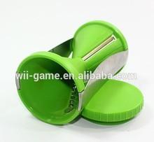 Home Kitchen Tool Spirelli Vegetable Spiral Grater Tool - Slicer Julienne Fruit Cutter Twister green