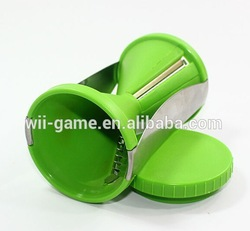 Home Kitchen Tool Spirelli Vegetable Spiral Grater Tool - Slicer Julienne Fruit Cutter Twister green