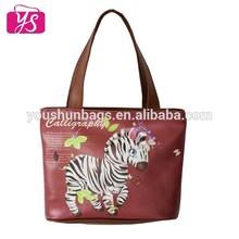 2014 factory direct sales cute design cheap women tote bag
