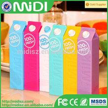 shenzhen mobile power supply milk power bank 2600mah