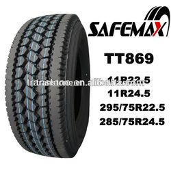 heavy duty truck tyre 11R22.5 tires for sale smartway certificate