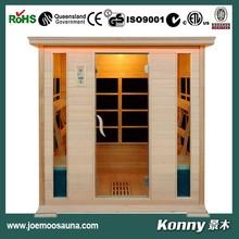 2014 KL-4SQ new far infrared sauna room