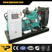 Open type Diesel Generator 34kw 43kva 3 Phase 50Hz TP47YD