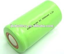 1.2V NIMH battery SC 3600mah rechargeable batteries