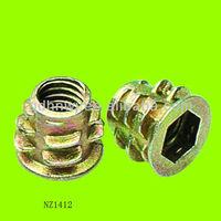 zinc alloy nut M6X9 alloy wheel nut bolt (NZ1412)