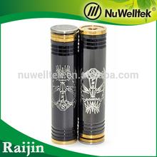 2014 Wholesale factory price raijin mod/ e-cig copper clone