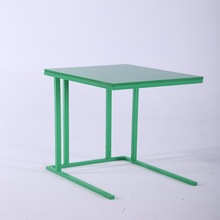 factory directly sale good quality modern coffee table ikea with metal tube legs