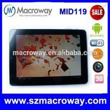 """9.7"""" Allwinner A13 Cortex A8 Dual Cores Touch Screen Android Wholesale Android 4.2 tablet Android Tablet Without Sim Card"""