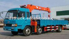 5ton truck mounted crane, hydraulic mobile crane