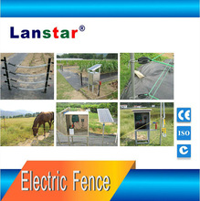 Solar farm electric fence solar energiser electric fence for dogs