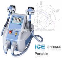 TUV approved portable shr ipl laser hair renoval skin analyzer machine