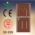disegno popolare vendita calda di alta qualità porta di ingresso in ferro battuto
