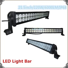 high quality 120W led light bars off road ,with stainless steel bracket