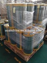 plástico rígido de pvc verde para rolo de natal artificiais árvore de folhas de fornecedor sênior