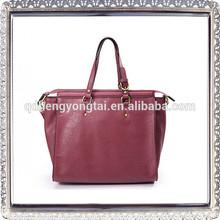 fashion designer Genuine cow leather lady handbags
