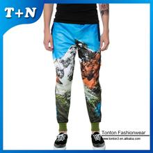 wholesale popular sublimation fashion customized colored sweatpants