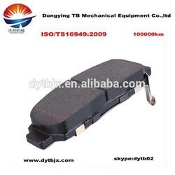 wholesale! Hi-q ! ceramic/semi metallic/ low metallic Mitsubishi lancer x brake pads with factory price