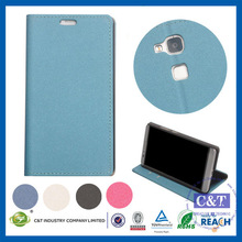 C&T High Quality filp wallet pu case cover for huawei ascend mate 7