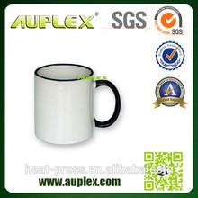 High Quanlity Rim Colourful Custom Personalized Mugs