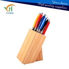 Hot sale kitchen knife set with bamboo block