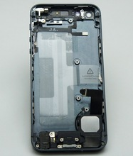For iPhone 5 Chassis Middle Frame Housing 5G Battery Rear Back Cover Assembly With Small Parts