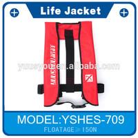 2014 New Fashion Latest Price Gas Cylinder Fishing Personalized Life Jacket Vest