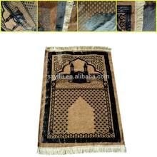 new style fashionable machine weave prayer mat for praying use