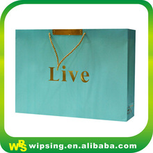OEM Production Customized Luxury Paper Shopping Bag