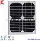 15W Mono solar panel mono photovatic panel solar, good solar panel quality and best price