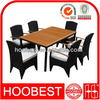 Factory Manufacturer Direct Wholesale customized new design rattan cane dining table