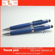 2015 Best sales metal blue touch pen