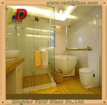 Supply good sliding glass shower door with sliding glass door handle