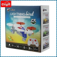 Hand thown 2.4G Mini RC QuadCopter helicopter with diy logo printing