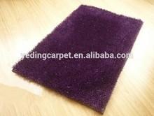 Synthetic Door Plain Color Shaggy Children Carpet