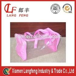new design pvc beach waterproof bag for cosmetic