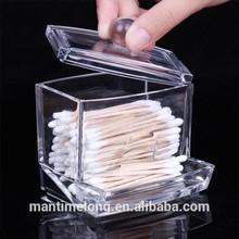 acrylic cosmetic box cotton storage box cosmetic box makeup kit