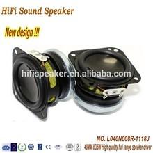 HiFi sound New design 40MM 8OHM 5W High quality full range speaker driver mini hifi multimedia professional speaker