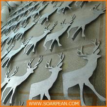new style custom promotional standing pvc Christmas deer