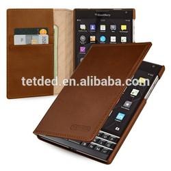 TETDED Premium Leather Case for BlackBerry Passport -- Mellac II (Vintage: Brown)